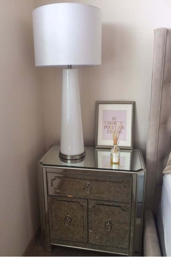 Z Gallerie Simplicity Mirrored Side Chest For In Champaign Il Offerup