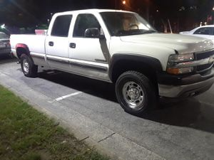 2003 Chevy Silverado 2500 HD four-wheel drive fully loaded four new tires ready to go 80000 miles everything works perfect for Sale in Rockville, MD