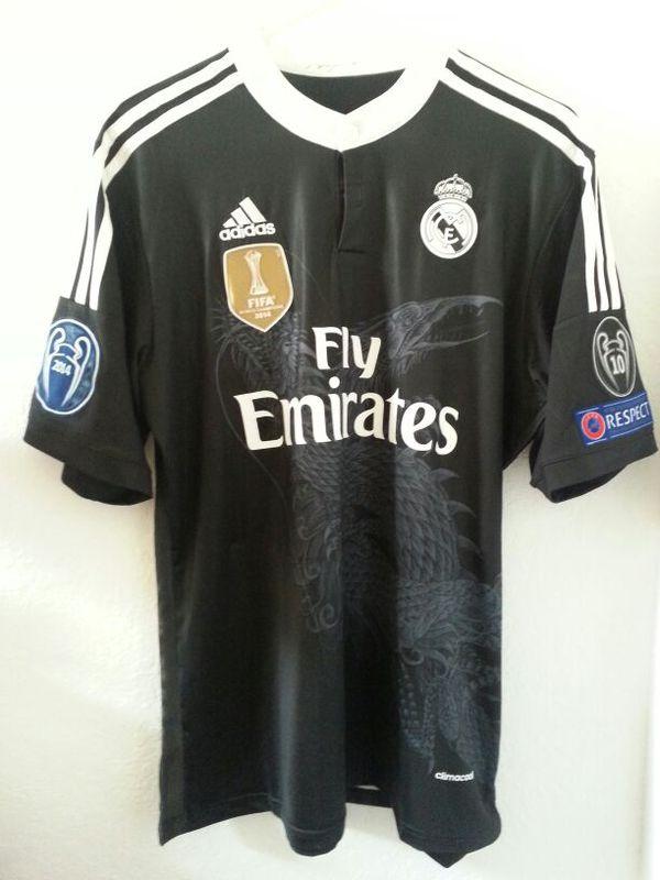 aa24eee57fe Cristiano Ronaldo  7 Real Madrid Black Dragon Champions League Jersey  Soccer Men Adidas for Sale in Miami