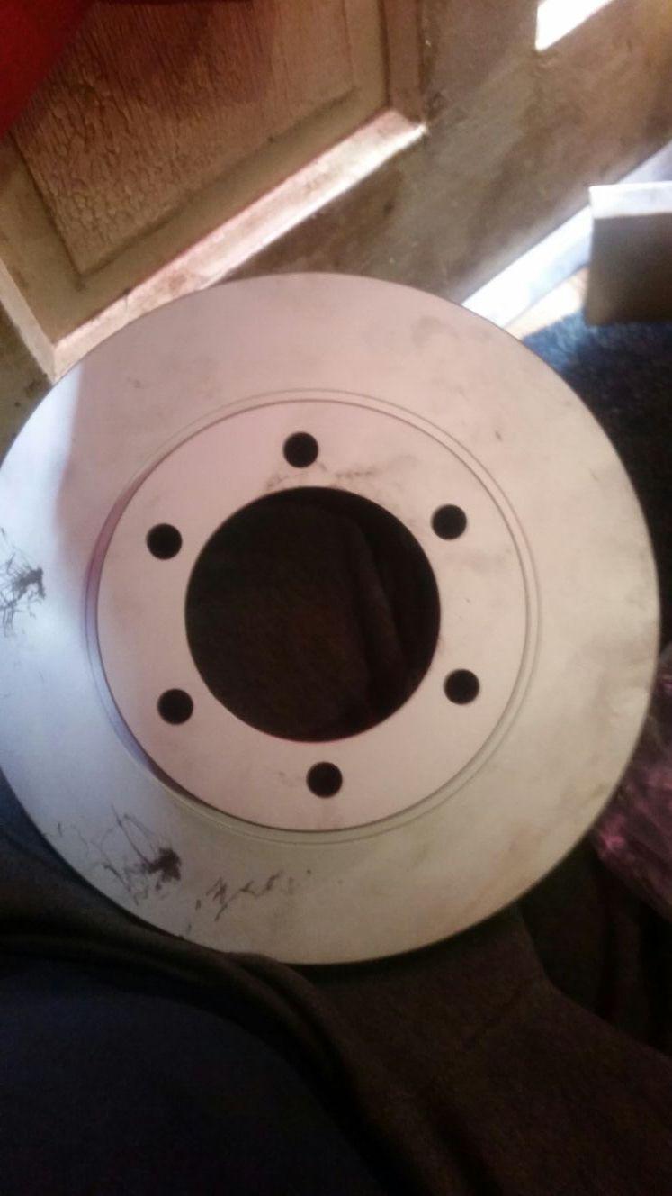 Set of rotors 2012 toyota Tacoma 6 lug