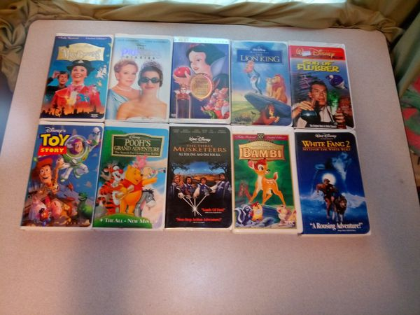 10 Walt Disney Vhs Tapes For Sale In Kansas City Mo Offerup