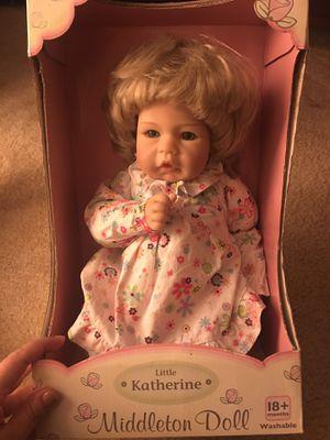 Lee Middleton doll little Katherine for Sale in Alexandria, VA