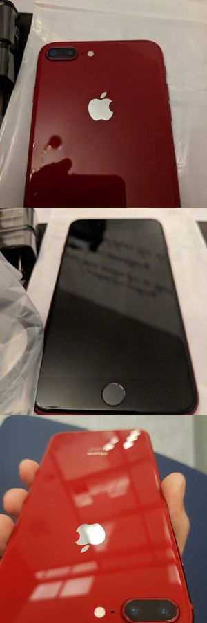 Neverlocked iPhone 8 Plus (Product) Red, 256GB for Sale in Layton, UT