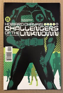 Challengers of the Unknown #1-6 Set Near Mint 9.4 Howard Chakin. Thumbnail