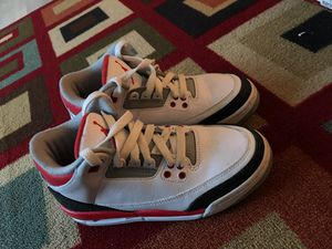 Jordan Retro 3's for Sale in Washington, MD