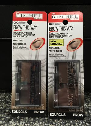 Rimmel Brow This Way brow sculpting kit for Sale in Alexandria, VA