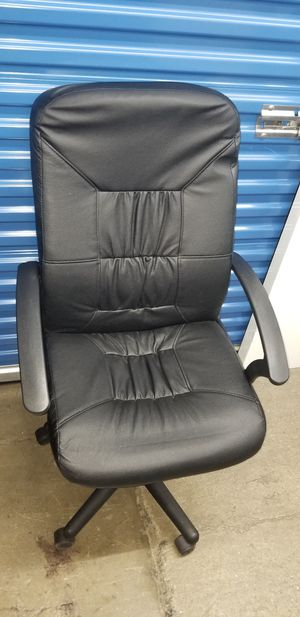 Ikea Leather Office Chair for Sale in Washington, DC