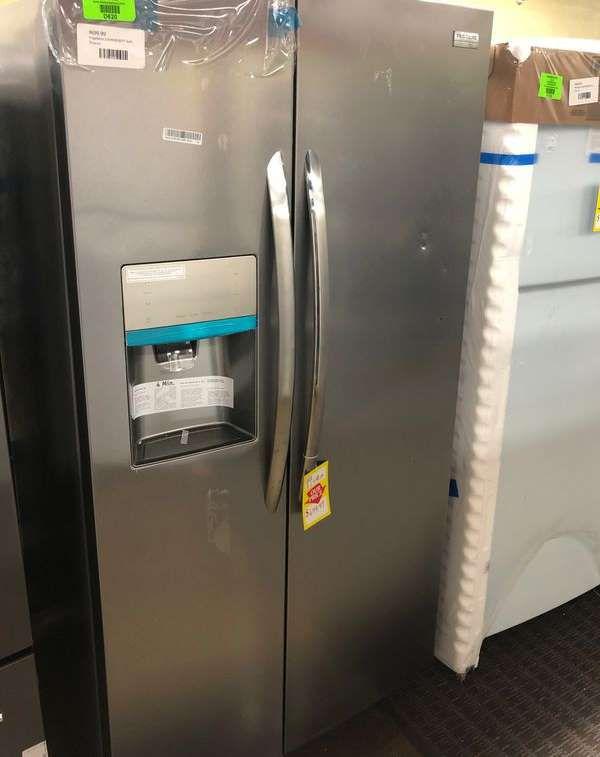 Brand New Frigidaire Gallery Side by Side Refrigerator (Model:LGHX2636TF) L