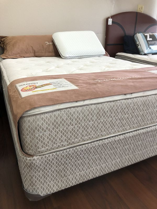BRAND NEW!! Plush Full size mattress set! On sale!! for Sale in San