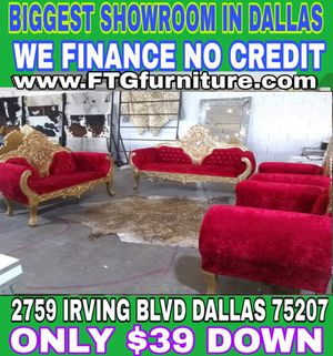 Living room set sofa loveseat chair for Sale in Plano, TX