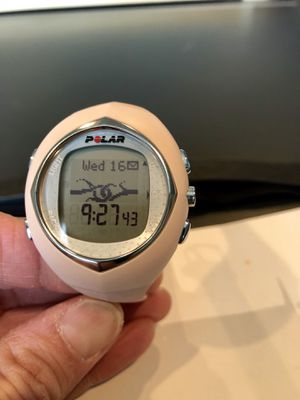 Polar F6 heart monitor exercise watch for Sale in Chino, CA