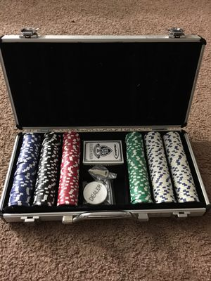 Poker Chips set for Sale in Fort Washington, MD