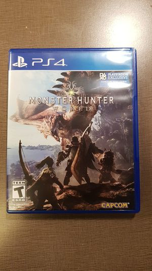 Monster Hunter World PS4 for Sale in Cleveland, OH