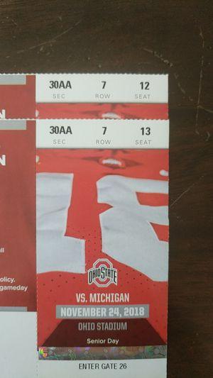 OSU vs Michigan Football Tickets for Sale in Shawnee Hills, OH