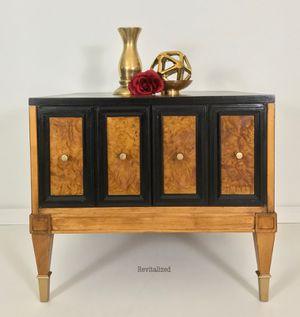Mid-Century Art Deco Side Table for Sale in Burke, VA