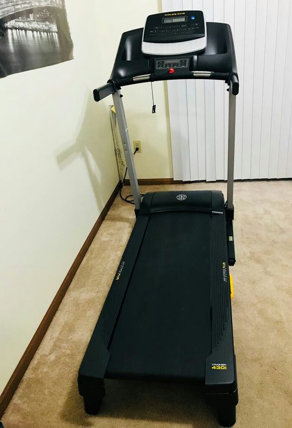 a970f44d0bb Gold Gym 430i Treadmill with Power Incline for Sale in Rockford