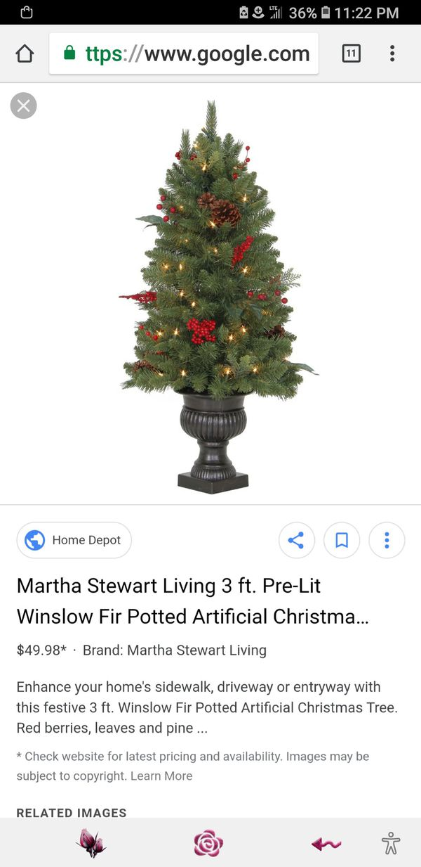 20sold - Potted Artificial Christmas Trees