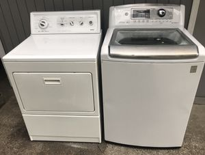 Washer & Dryer LG/ Kemore Electric Combo for Sale in South Hill, WA