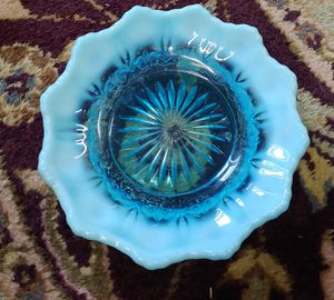 Blue Depression Glass Dish for Sale in Graham, NC