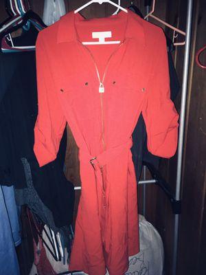 Photo Michael Kors Half Zip Belted A Line Shirt Dress (XLarge) $80 OBO *Never Worn*
