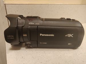 Panasonic 4k camcorder for Sale in Orlando, FL