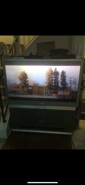 """FREE 55"""" Rear projection Tv for Sale in Gaithersburg, MD"""