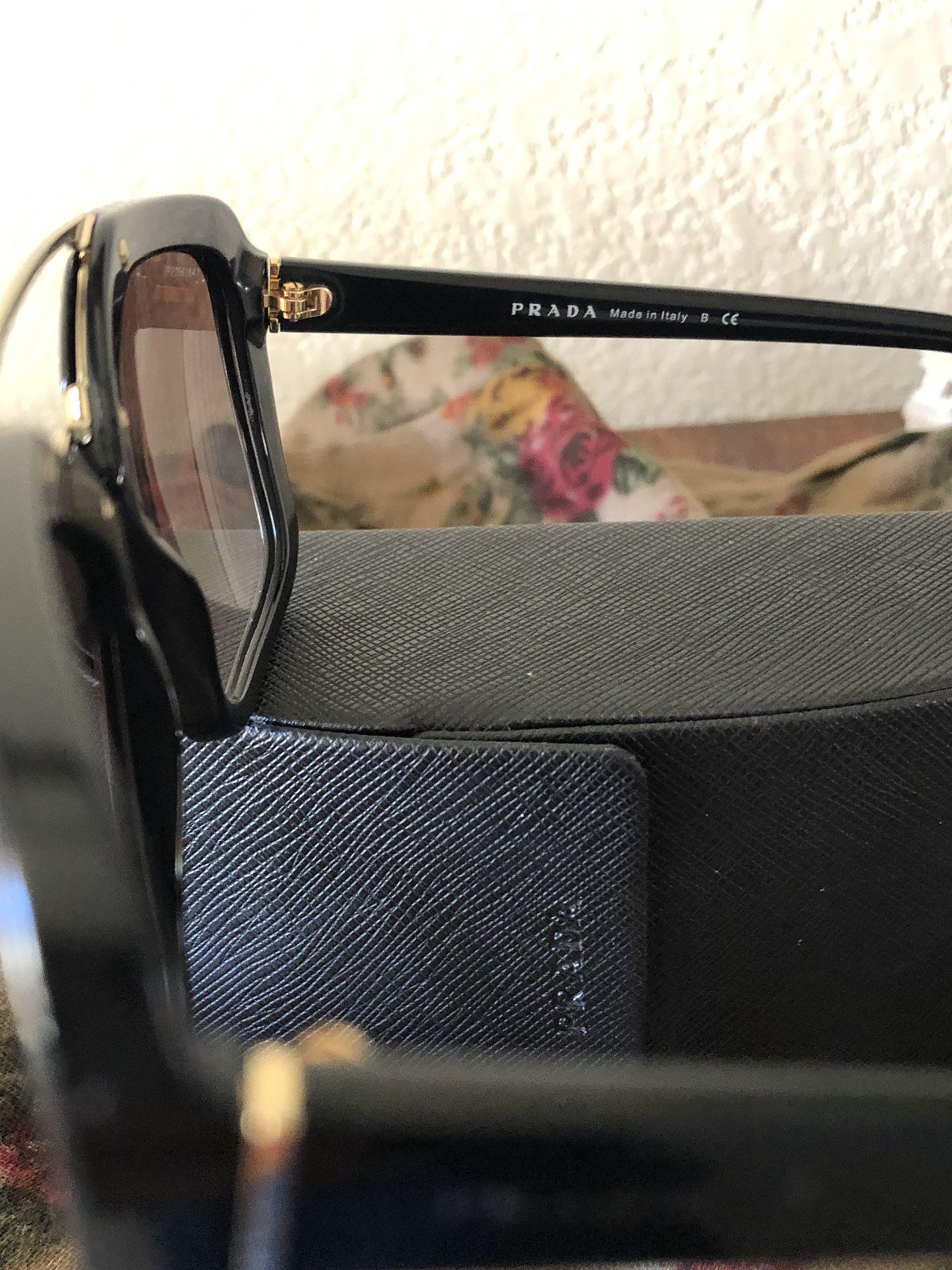 Authentic Prada double bridge Sunglasses