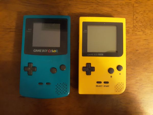 Yellow Gameboy Pocket & Teal Gameboy Color for Sale in Ocala, FL - OfferUp