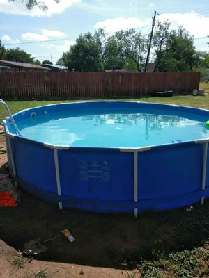Swimming pool 14 round 36 deep for Sale in Mineral Wells, TX