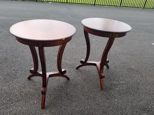 Bombay side tables, end tables for Sale in Chantilly, VA