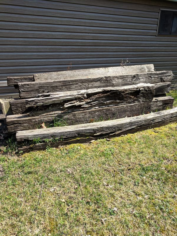 Railroad ties some are Good others not so much for Sale in Finleyville, PA  - OfferUp