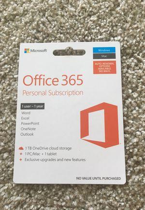 Office 365 new 50dollars for Sale in Arlington, VA
