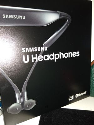 Samsung U Headphones Wireless Blu. for Sale in Lake Worth, FL