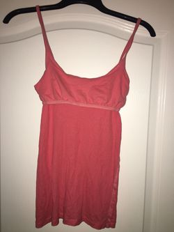 Tank top with built in support size M Thumbnail