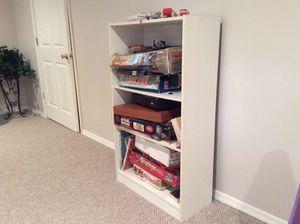 White storage shelf. for Sale in Herndon, VA