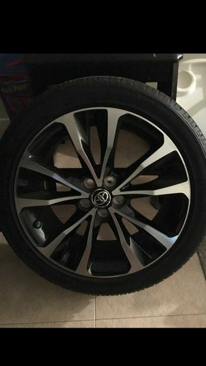 17 inch rims and tires (Corolla) for Sale in Oxon Hill, MD