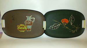 2 vintage Holmar trays for Sale in Orlando, FL