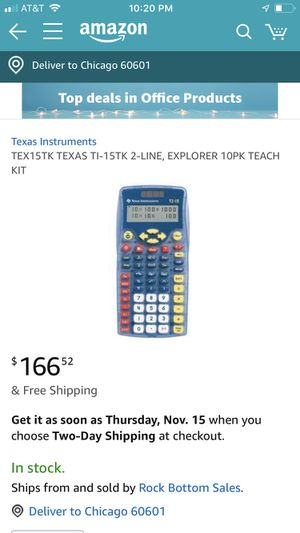 Calculator for Sale in Chicago, IL
