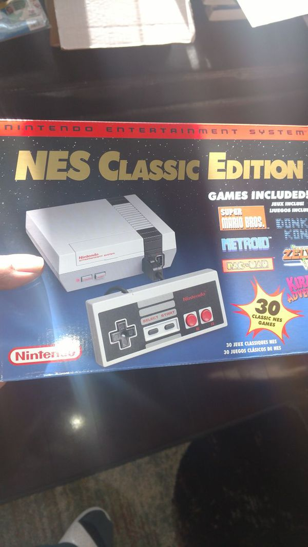 Nes Classic Modded W 750 Games For Sale In Summerville Sc Offerup