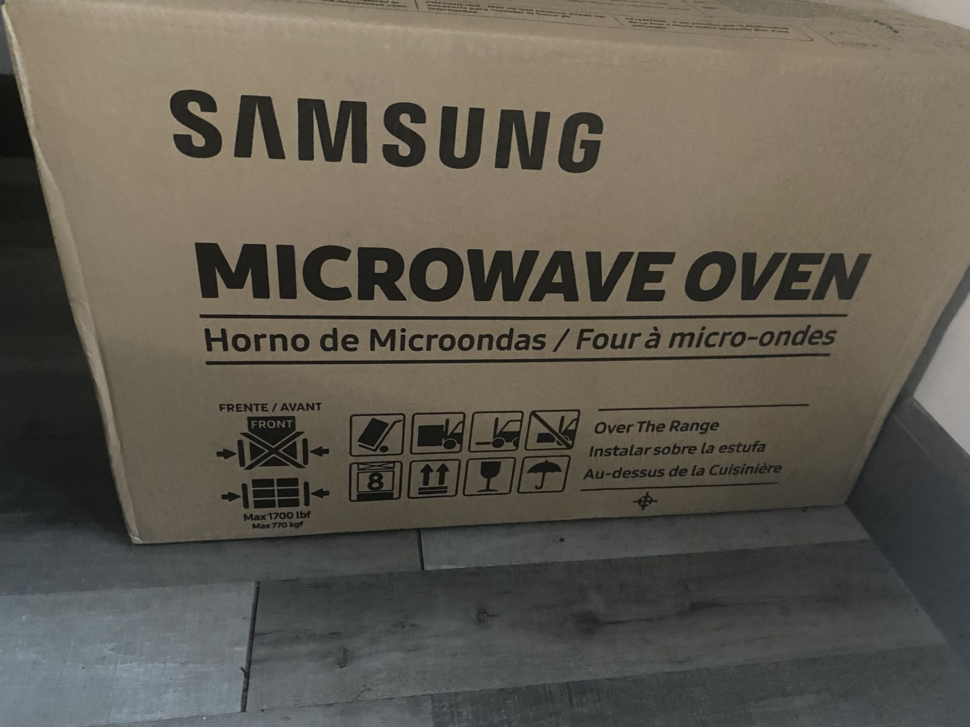 Over The Range Stainless Steel Microwaves