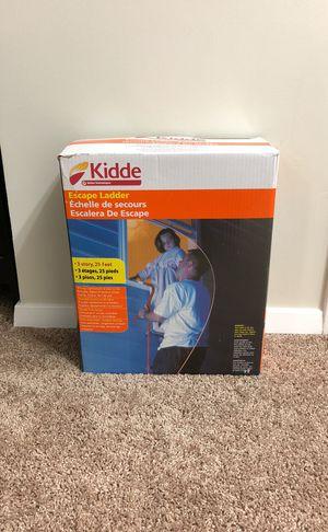 Kidde ladder fire safety!! for Sale in Lorton, VA