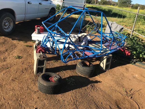 Go cart/buggy frame/tires/shock for Sale in Murrieta, CA - OfferUp