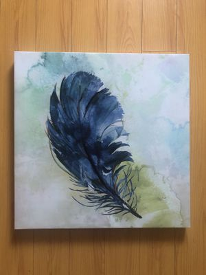 Feather art canvas for Sale in Los Angeles, CA
