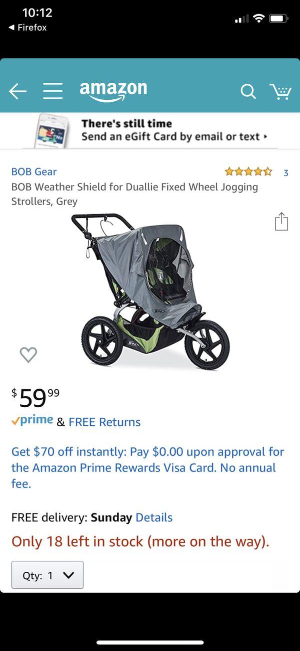 Single bob stroller rain cover for Sale in Snohomish, WA ...