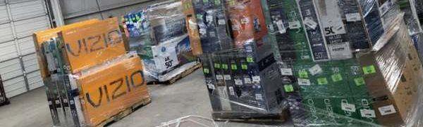 TV warehouse liquidation event !!! New open box!! Act fast! ETXT