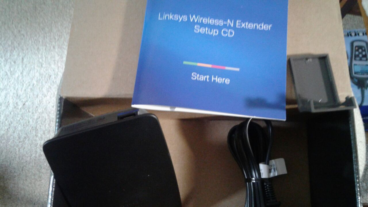 Lynksys, wireless Range Extender /N300