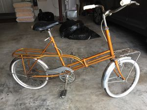 1966 foldable tote cycle for Sale in Seattle, WA