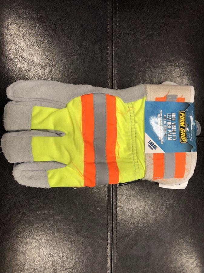 Large reflective gloves