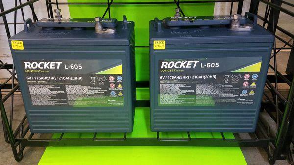 6 Volt 《Golf Cart Batteries 》 for Sale in Seffner, FL ...