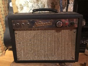 Photo Amazing 1960's Rare Valco 'National' guitar amp